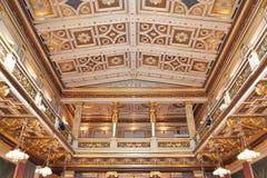 Концертный зал в Musikverein Стоковая Фотография