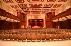 Концертный зал и театр на искусствах коллежа строя, университет Chulalongkorn стоковые изображения