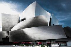 Концертный зал Уолт Дисней, центр города Лос-Анджелеса, Калифорния стоковые изображения
