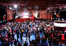 концертный зал Стоковая Фотография