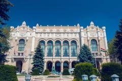 Концертный зал Vigado на дневном времени Стоковые Фото