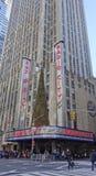 Концертный зал города радио, Нью-Йорк Стоковые Изображения