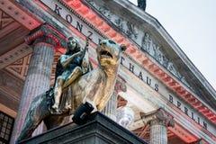 Концертный зал - город Германия Берлина Стоковые Фото