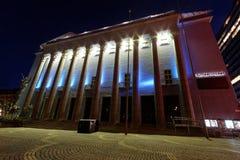 Концертный зал Стокгольма стоковое фото