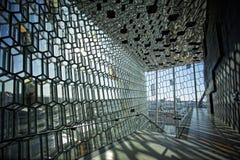 Концертный зал Harpa стоковые фотографии rf
