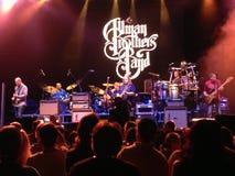 Концерт братьев Allman Стоковое фото RF