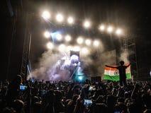 Концерт в Индии стоковое фото rf