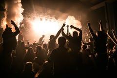 Концерт в Лондоне Стоковые Изображения