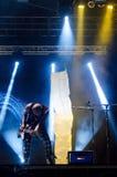 Концерт в реальном маштабе времени Caramelos de Cianuro Стоковая Фотография