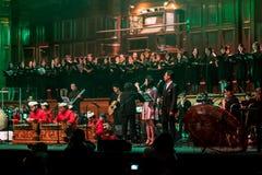Концерт группы Стоковая Фотография RF
