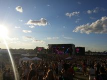 Концерт летнего времени Стоковое фото RF