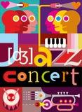Концерт джаза бесплатная иллюстрация