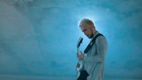 Концерт диапазона рок-н-ролл, сток-видео