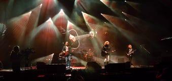 Концерт музыки - индиго Стоковые Фото