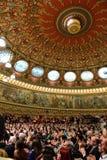 Концерт на румынском атенее Стоковая Фотография RF