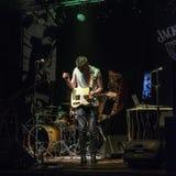 Концерт рок-музыки Стоковое фото RF