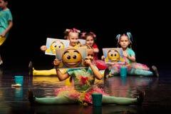 Концерт театра танца 'Kolibri', 17-ое января 2016 в Минске, Беларуси Стоковая Фотография