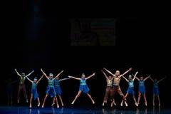 Концерт театра танца 'Kolibri', 17-ое января 2016 в Минске, Беларуси Стоковое фото RF