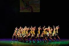 Концерт театра танца 'Kolibri', 17-ое января 2016 в Минске, Беларуси Стоковые Изображения RF