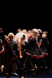 Концерт театра танца 'Kolibri', 17-ое января 2016 в Минске, Беларуси Стоковая Фотография RF
