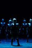Концерт театра танца 'Kolibri', 17-ое января 2016 в Минске, Беларуси Стоковые Фотографии RF