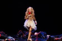 Концерт театра танца 'Kolibri', 17-ое января 2016 в Минске, Беларуси Стоковые Изображения
