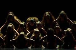 Концерт театра танца 'Kolibri', 17-ое января 2016 в Минске, Беларуси Стоковые Фото