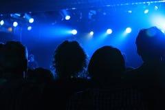 Концерт утеса стоковое фото