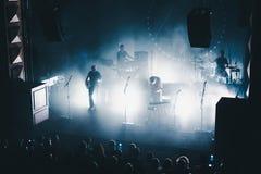 Концерт утеса Стоковое Изображение RF