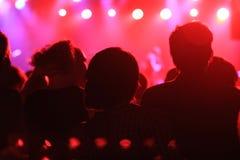Концерт утеса стоковое изображение