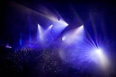 Концерт утеса Стоковые Изображения RF