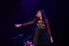 Концерт Indila Стоковая Фотография RF
