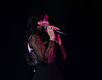 Концерт Indila Стоковое Изображение