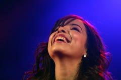 Концерт Indila Стоковая Фотография
