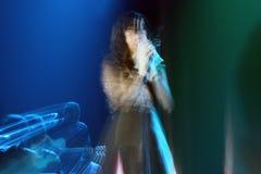 Концерт Indila Стоковые Фотографии RF