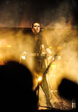 Концерт Laibach стоковое изображение
