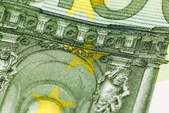 100 концов-вверх евро Стоковая Фотография RF