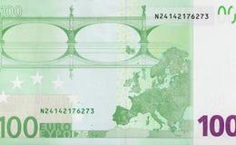 100 концов-вверх евро! Стоковые Изображения
