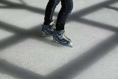 коньки льда Стоковая Фотография