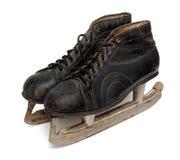 коньки пар льда старые Стоковые Фото