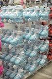 Коньки ролика в магазине Стоковое Фото