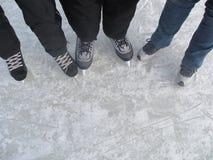 Коньки льда Стоковое фото RF