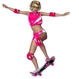 конькобежец девушки стоковые изображения rf