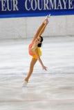 конькобежец итальянки льда garlisi чемпионата Стоковое фото RF