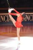 конькобежец конька marchei льда 2011 пожалования золотистый Стоковое Изображение RF