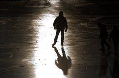 конькобежец льда Стоковое фото RF