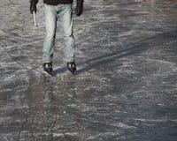 конькобежец льда Стоковые Изображения RF