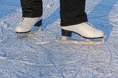 конькобежец ног s Стоковая Фотография RF