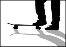 конькобежец стоковые изображения
