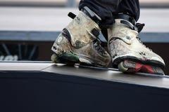 конькобежец Стоковая Фотография RF